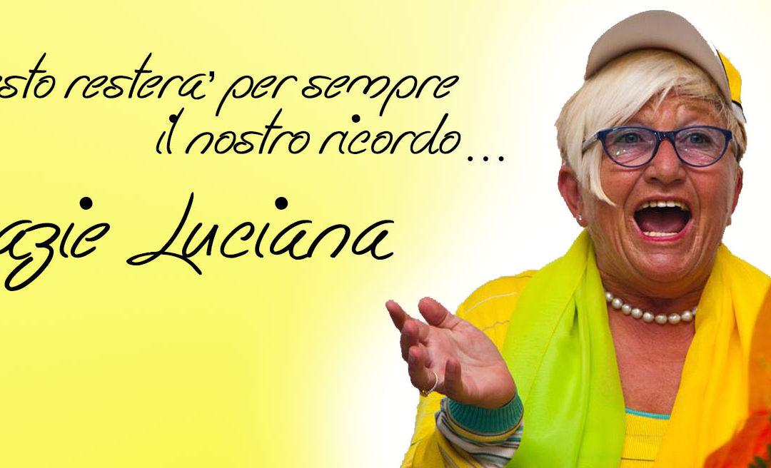 Progetti per l'Infanzia, Grazie Luciana.