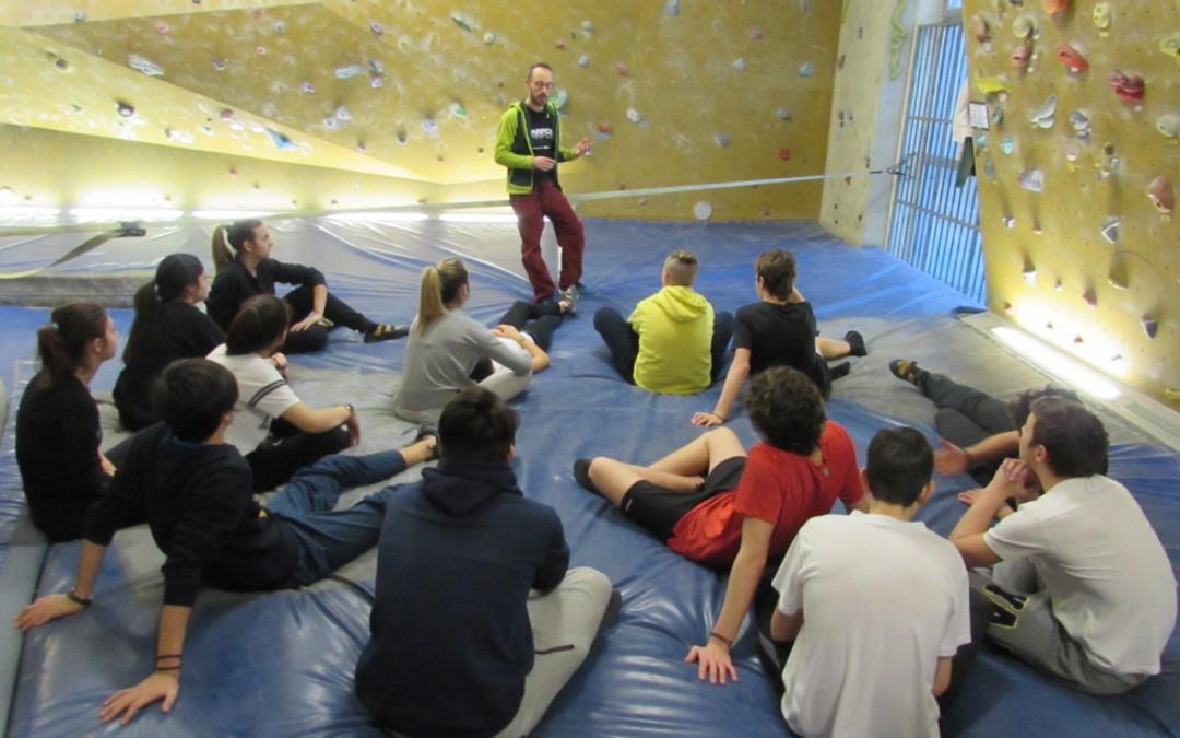 Ragazzi in quota: la photogallery dell'arrampicata sportiva.