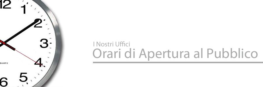 Orario estivo degli uffici Istituto Parini
