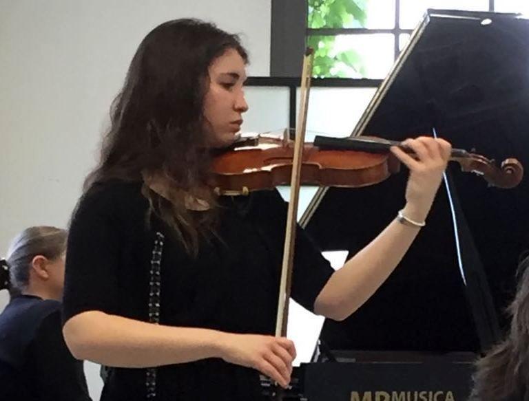#sottobanco: Angelica e il violino