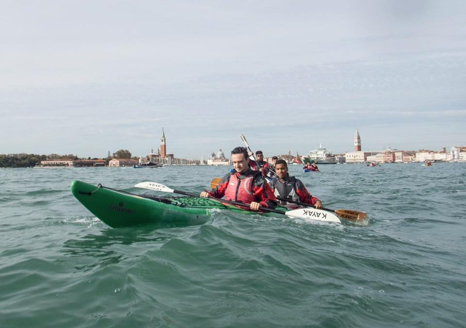 Lo Sportivo in Kayak