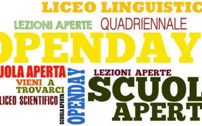 OpenDay – Scuola Aperta 2018-2019