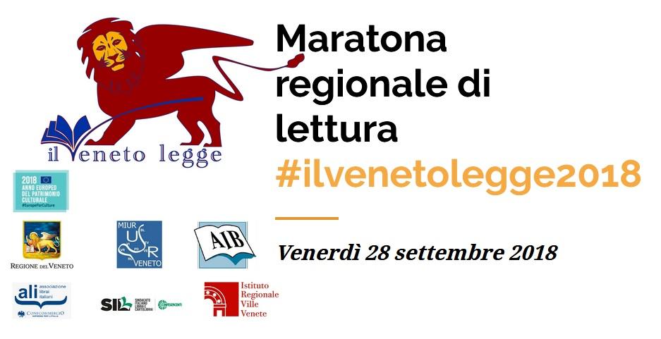 COMUNICATO STAMPA – La Maratona #ilvenetolegge
