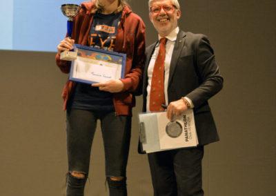 """Francesca Leonardi riceve il premio Panathlon """"Studente-Atleta"""" dell'anno"""